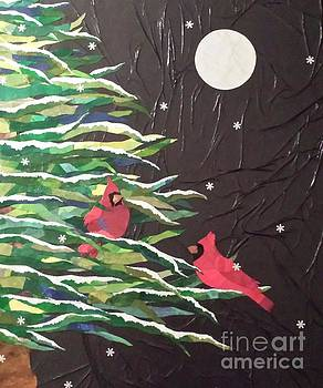 A Light Snowfall by Diane Miller
