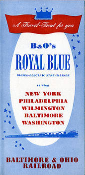 A Travel Treat for You by Baltimore and Ohio Railroad