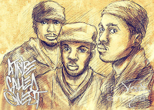A Tribe Called Quest by Tuan HollaBack