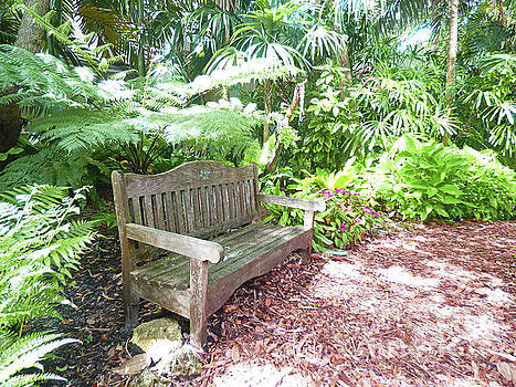 Sharon Williams Eng - A Tropical Resting Place