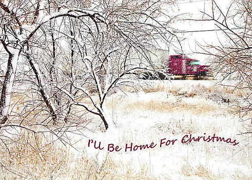 A Trucker's Christmas Card by Theresa Tahara