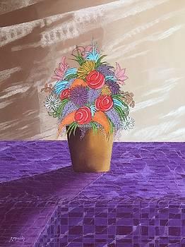 A Vase of Flowers II by Harvey Rogosin