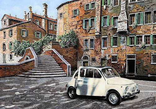 a Venezia in 500 by Guido Borelli