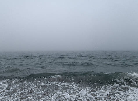 A Very Foggy Day at the Beach by Mary Capriole