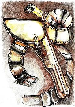 A Veterans holstered Colt Walker by Ricardo Reis