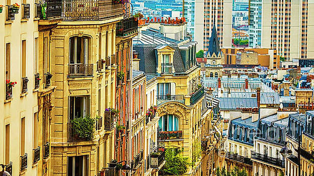 A View from Montmartre by Katya Horner
