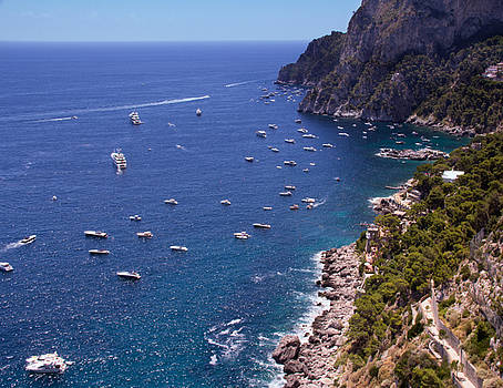 A View Of Capri by Daphne Sampson