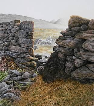 A view of Crib Goch by Alwyn Dempster Jones