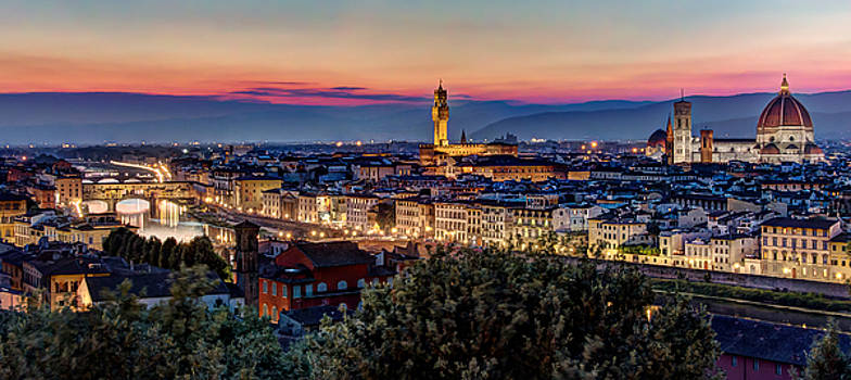 A view of Florence by Brent Durken
