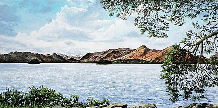 A View of Friars Crag, Keswick by Mark Woollacott