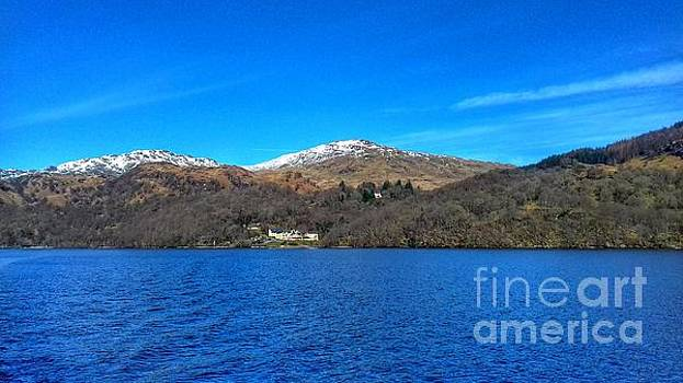 A View of Loch Lomond in Spring 2 by Joan-Violet Stretch