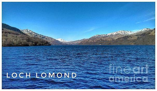 A View of Loch Lomond in Spring by Joan-Violet Stretch