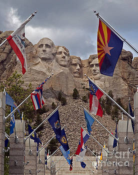 A View of Mt. Rushmore by Robert Pilkington