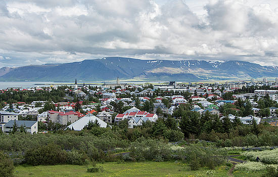 A View of Reykjavik, Iceland by Venetia Featherstone-Witty