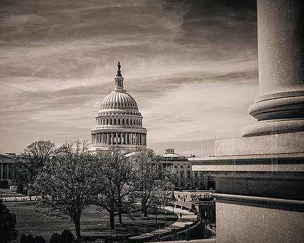 A View of the Capitol by Emily Kay