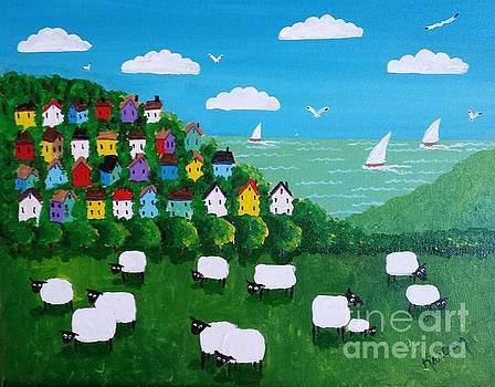 A View of the Sheep by Karleen Kareem