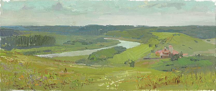 A View on the Kudikina Mount by Denis Chernov