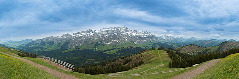 A View To The Saentis, Switzerland by Andreas Levi