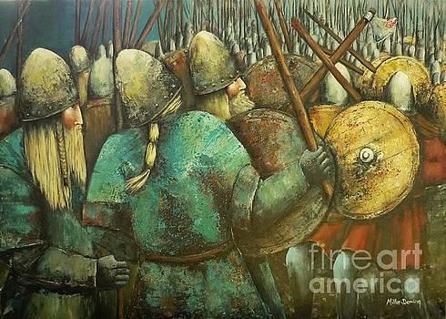 A Viking Skirmish by Kaye Miller-Dewing