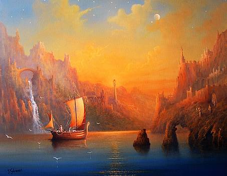 A Viking Voyage From The Magical Realm by Ray Gilronan