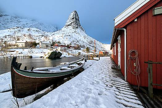 A Village Lofoten by Dubi Roman