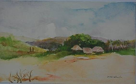 A Villageview of Diglipur in Andamans by Prakash Sree S N
