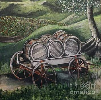 A Wagon Full Of Grapejuice by Katie Adkins