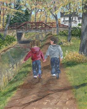 A Walk Along the Canal by Margie Perry