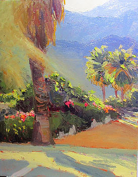 A Walk Amongst the Palms by Kathleen Strukoff