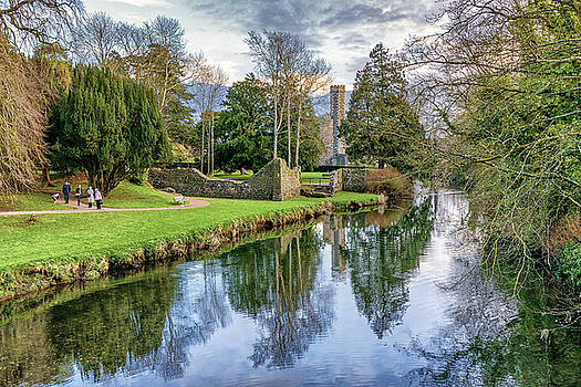 A Walk In The Castle Grounds by Alan Campbell