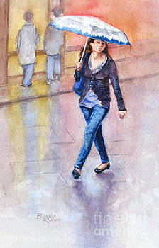 A Walk in the Rain by Bonnie Rinier