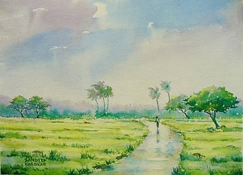 A Walk in the Rains by Sandeep Khedkar