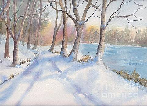 A Walk In The Snow by Yohana Knobloch
