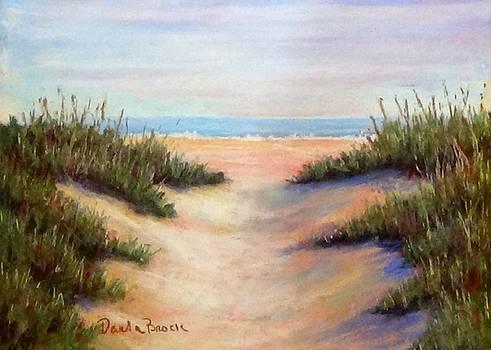 A Walk on the Beach by Darla Brock