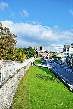A walk to the MInster by Robert Gipson
