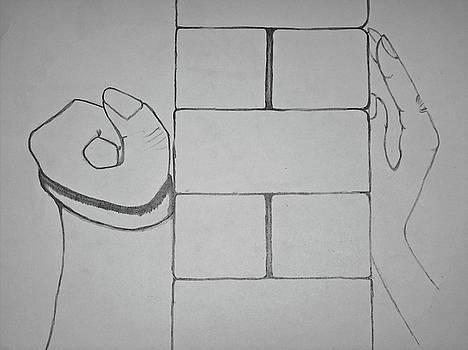 A wall apart by Eloudi Coetzer