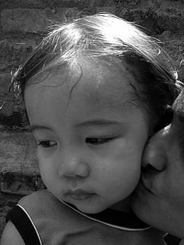 A warm kiss by Arvind T Akki