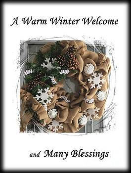 A Warm Winter Welcome by Barbara Griffin