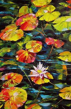 A Water Lilly 2 by Keren Gorzhaltsan
