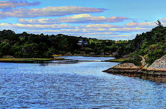 A water View Newport RI by Tom Prendergast