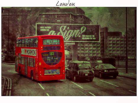 A way through London by Nicole Frischlich