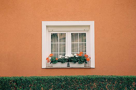 A Window in Croatia by Eric  Bjerke Sr
