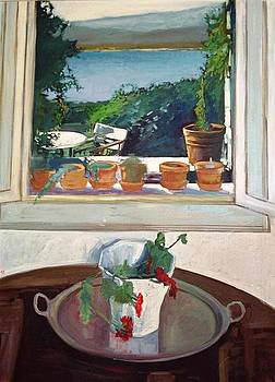 A Window view by George Siaba