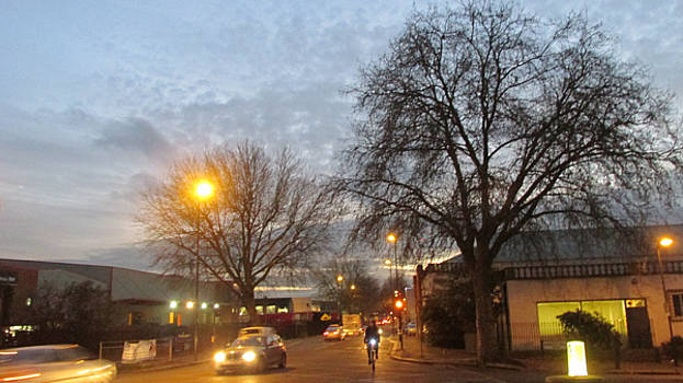 A Winter Evening  In 2015 At Park Royal - Northwest London by Mudiama Kammoh