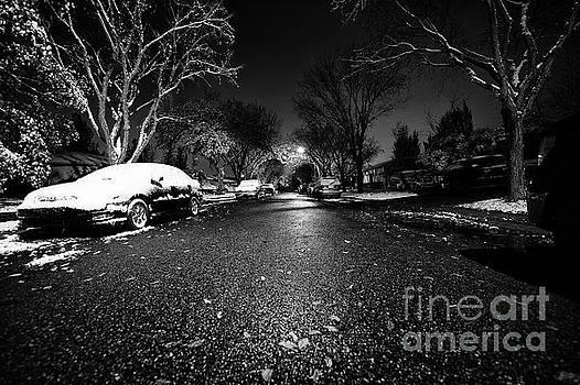A Winter Street by Ian McGregor