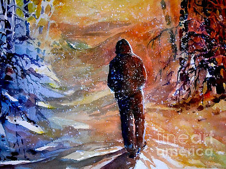 A Winter Walk by Jerry Aissis