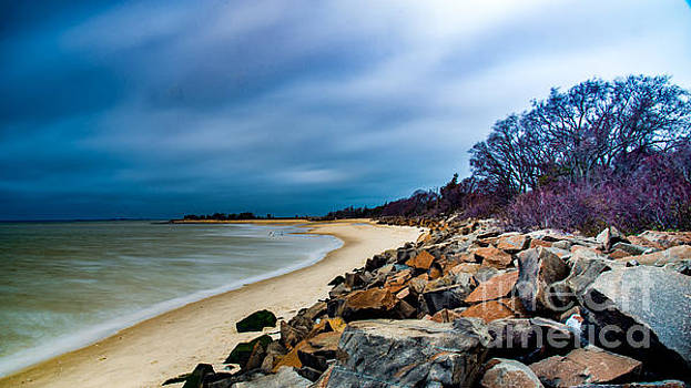 A Winter's Beach by Jim DeLillo