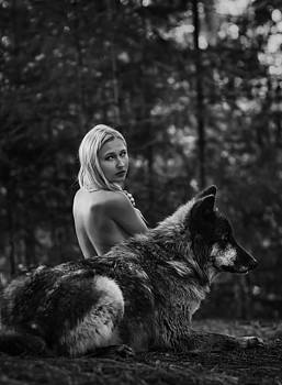 A Wolf and His Girl - Protector  by Andrea Borden