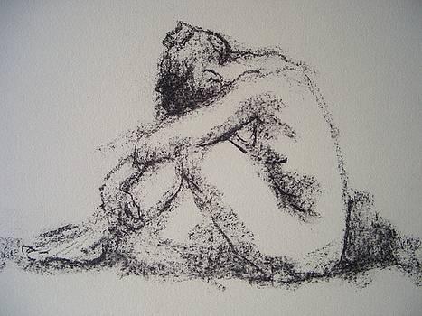 A Woman by Alfons Niex