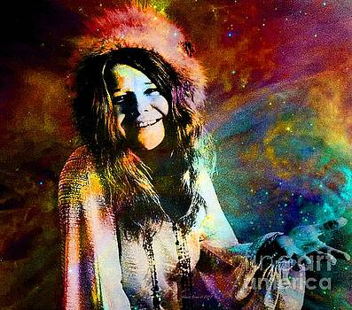 A Woman Of 1970 Rock And Roll by AZ Creative Visions